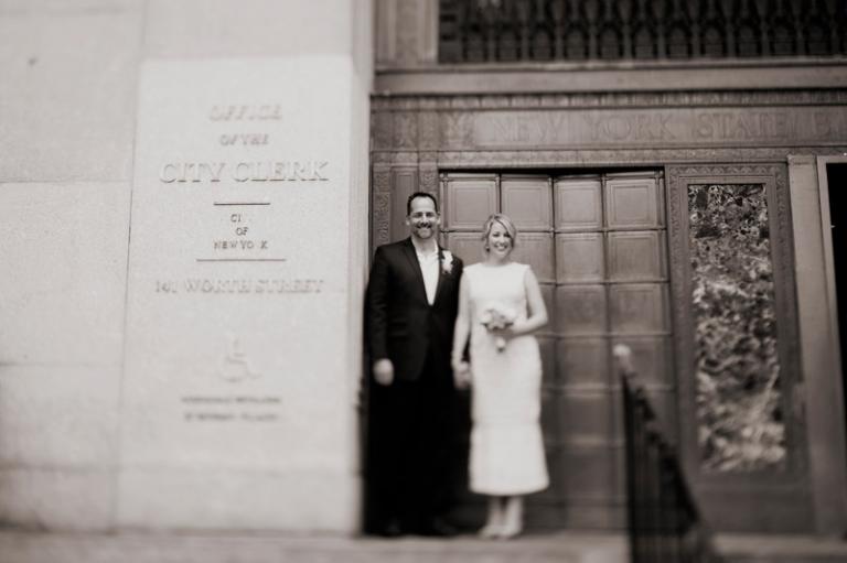 new york artistic city hall wedding photography // joyeuse photography