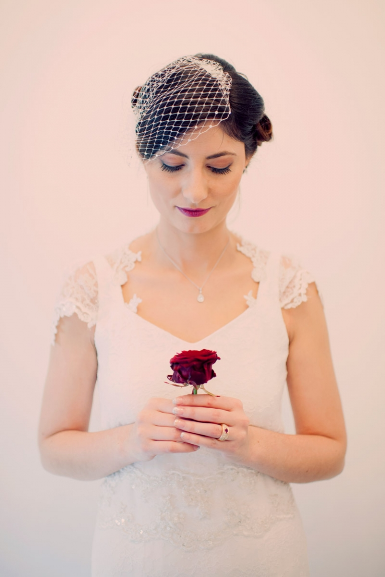 dreamy vintage bride france // joyeuse photography