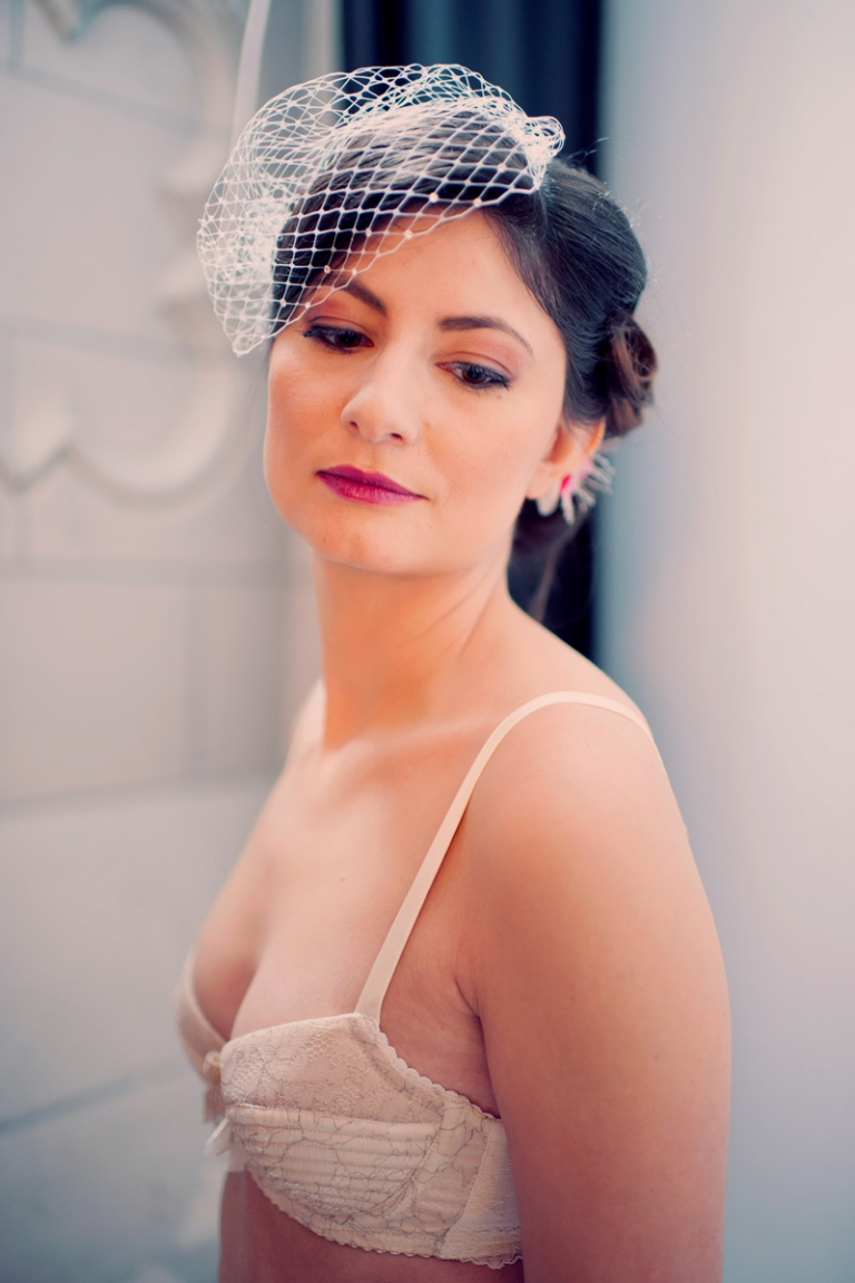 vintage bridal boudoir photography / joyeuse photography