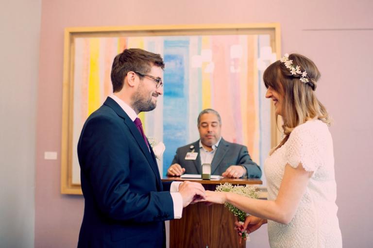 bohemian city hall wedding photography new york // joyeuse photography