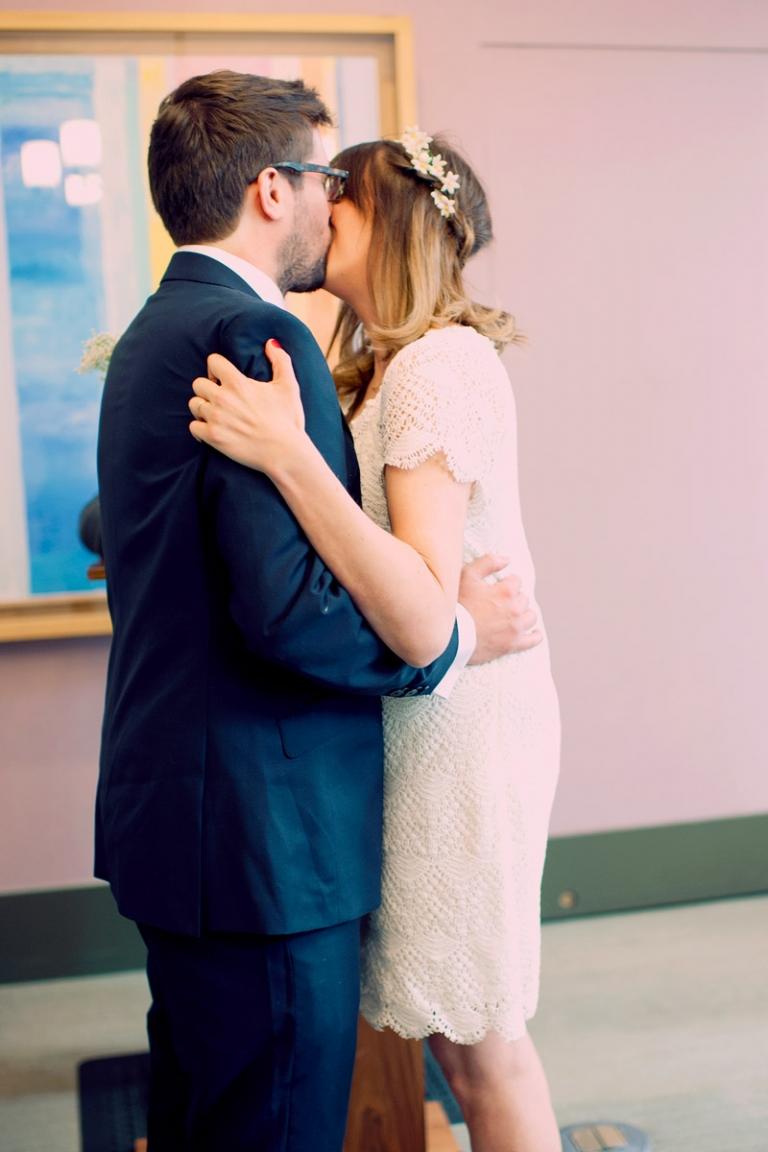 romantic bohemian elopement new york // joyeuse photography
