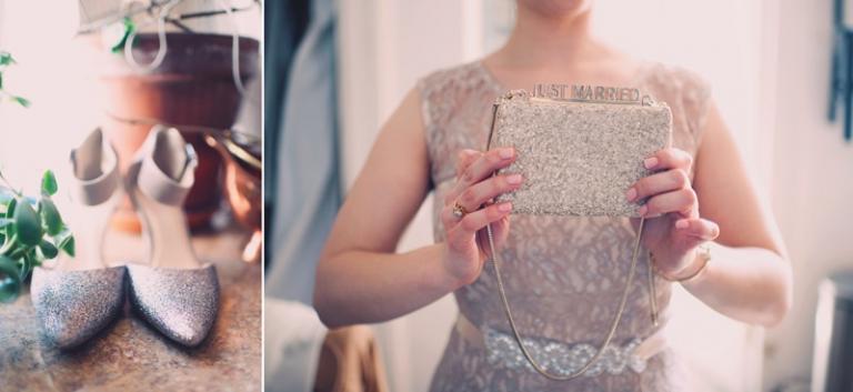 sparkly wedding accessories - joyeuse photography