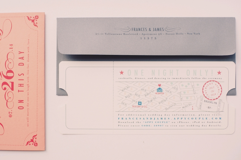 cool wedding invitations joyeuse photography